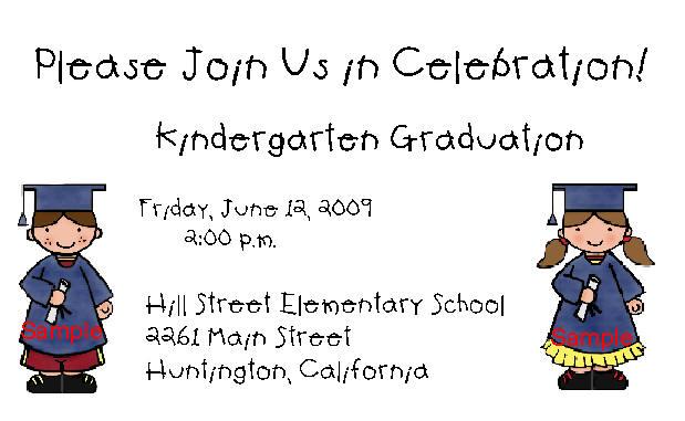 Kingergarten-Graduation-Invitations