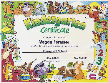 Kindergarten certificates to order a set of 20 diplomas or certificates yadclub Image collections