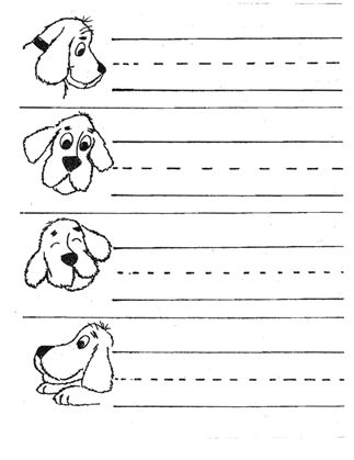 Common Worksheets » Pattern Writing Worksheets Pdf - Preschool and ...