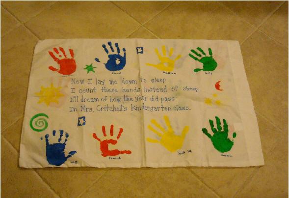 Paint Pillowcase Craft
